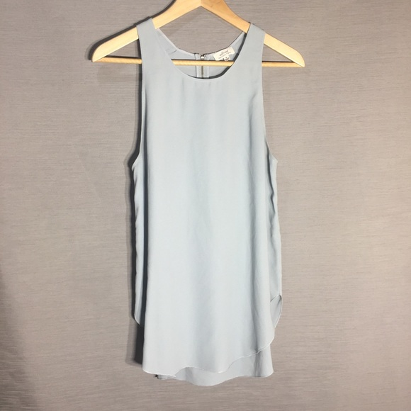 Wilfred free mint grey tank top
